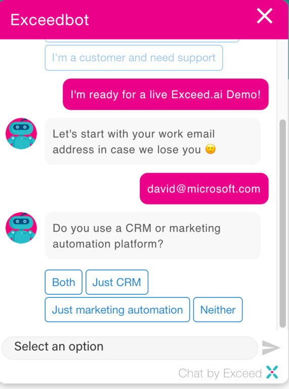 Website chat  to convert more leads into sales