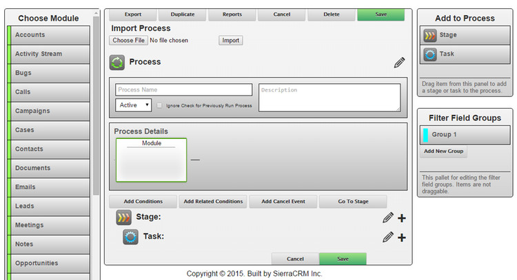 Process Manager 4.0 Create a Process