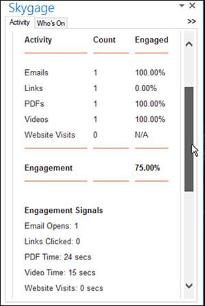 Engagement Scoring