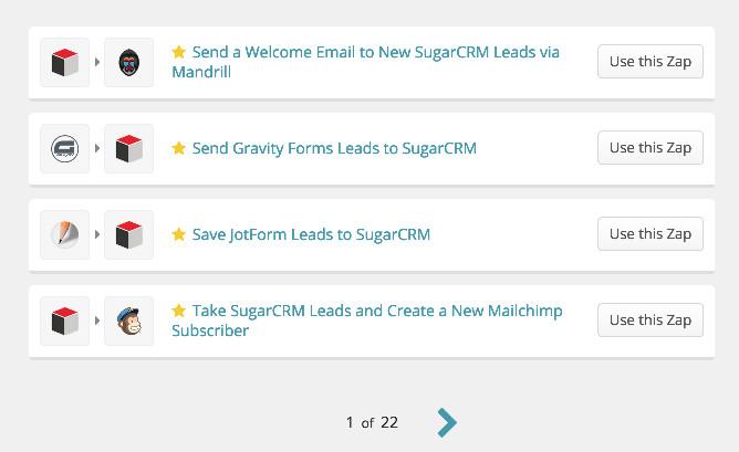 SugarCRM Integrations