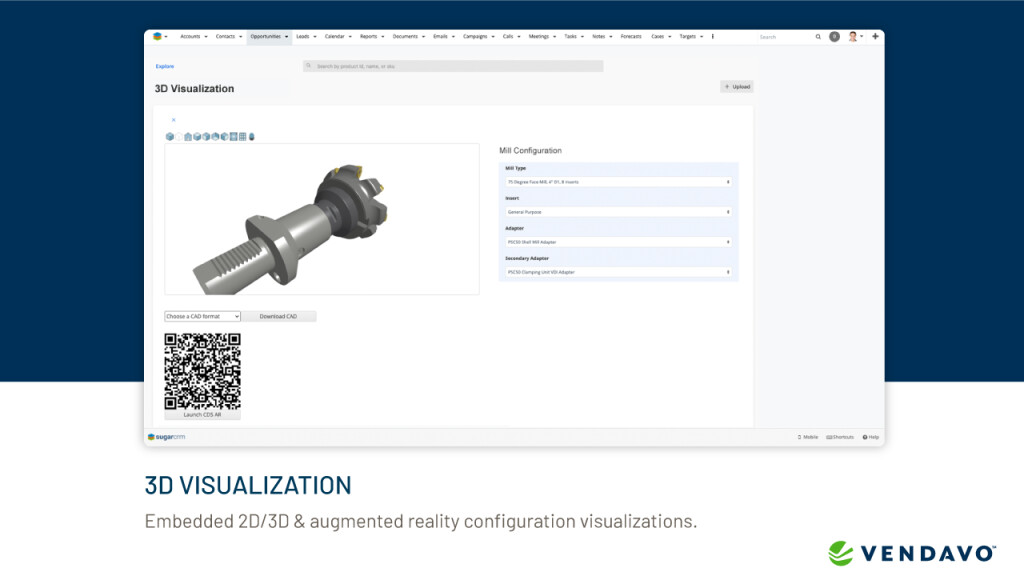 3D Visualization Configuration