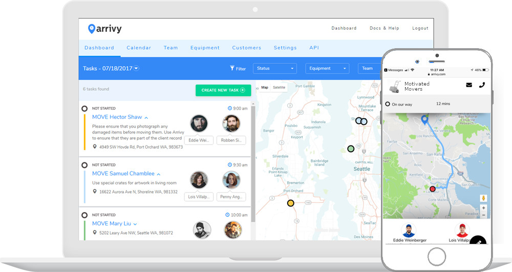 Engaging Customer Experience & Dashboard for Office Teams