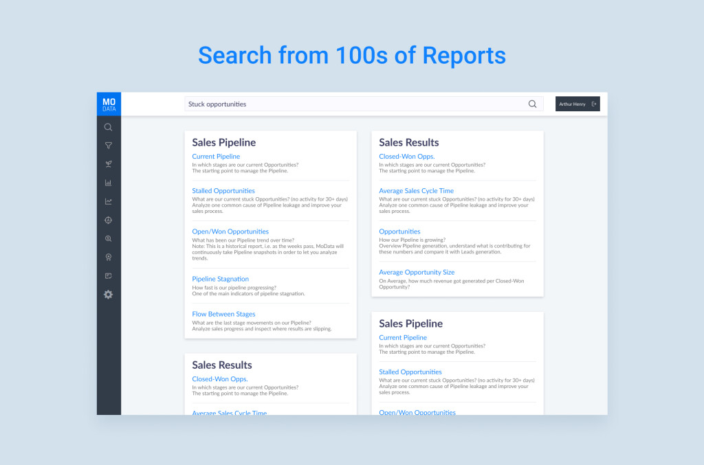 Search in Reports